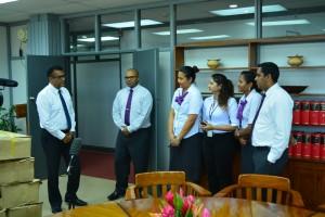 HFC Bank GM Retail Banking Tony Ram Introduces Team to PS Karan