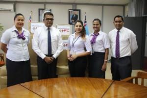 PS Karan & HFC Bank Business Banking Staff